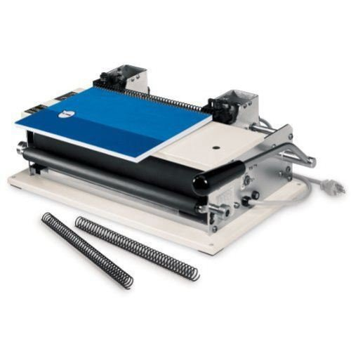 GBC CI12 Electric Coil Inserter with Cut and Crimp Knives (0323000000) Image 1