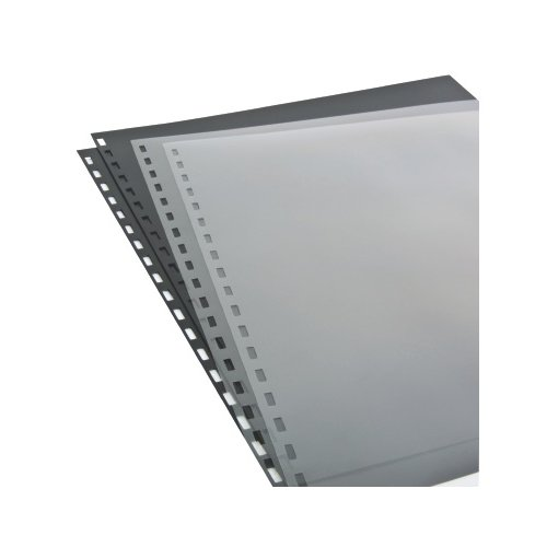 "GBC Clear View 8.5"" x 11"" ZipBind Pre-Punched Covers 10pk (26003) - $8.43 Image 1"
