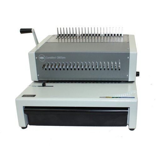 Combbind Electric Plastic Comb Binding Machine