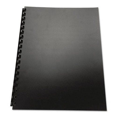 GBC ECO Friendly Black Recycled Poly Covers 100pk (25814) Image 1
