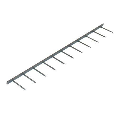 GBC Premium Grey 11 Pin Velobind Strips (GBCVB11GY) Image 1