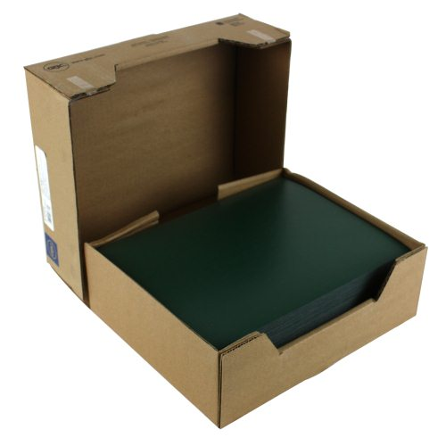 "GBC Hunter Green 8.5"" x 11"" Regency Covers 200pk 9742494 (9742494G)"