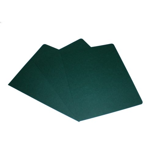 "GBC Hunter Green Grain 8.75"" x 11.25"" Covers 200pk -201021 (201021X)"