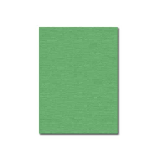 "Hunter Green Linen Weave 8.5"" x 11"" Covers - 200pk (23402LTRX) Image 1"
