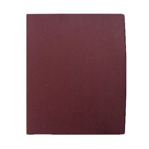 GBC Impact Burgundy Designer Two Pocket Folder 5pk (W55516) Image 1