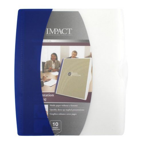 GBC Impact Presentation Sleeve 12pk Assorted (W21529) Image 1