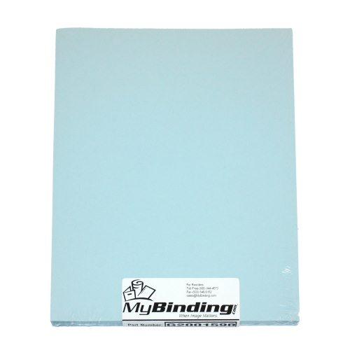 Aqua Binding Covers Image 1