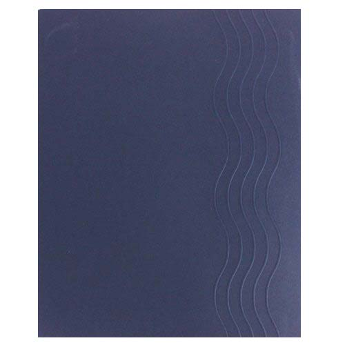 GBC Midnight Blue Waterfall Covers 12sets (2001871) Image 1