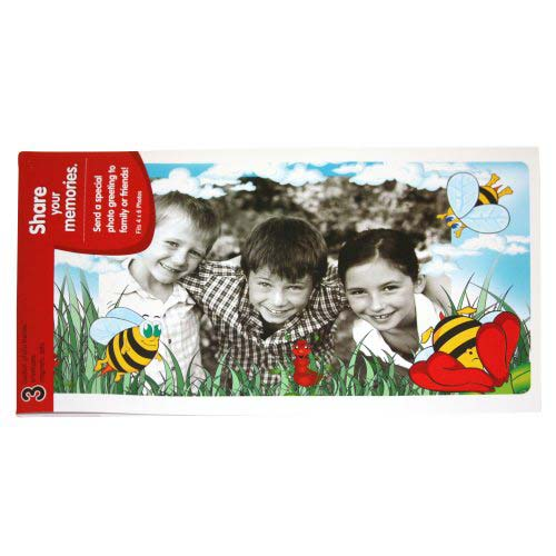 GBC PhotoPop SelfSeal Framed Pouches - Springtime Bees - 3pk (W59401) Image 1