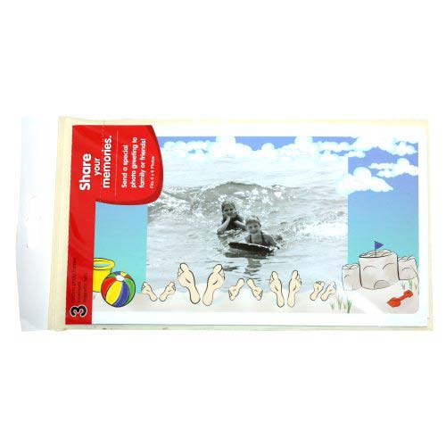 GBC PhotoPop SelfSeal Framed Pouches - Vacation - 3pk (W59404) - $8.09 Image 1