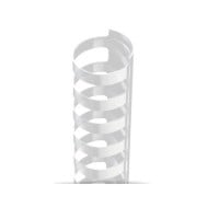Clear Plastic Comb Binding Supplies