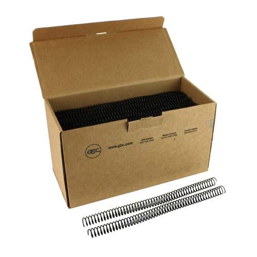 GBC Premium ColorCoil 16mm Black Spiral Coils (9665070G) - $31.09 Image 1