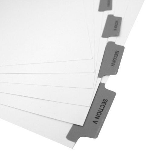 Preprinted Binding Tabs Image 1