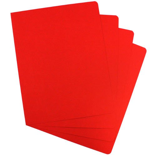 "Red Grain 8.75"" x 11.25"" Covers (200pk) (2000021G-X)"
