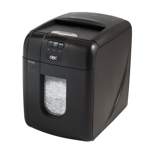 GBC Stack-and-Shred 130M Level P-5 Auto Feed Micro-Cut Shredder (GBC-1758571AF) - $680.18 Image 1