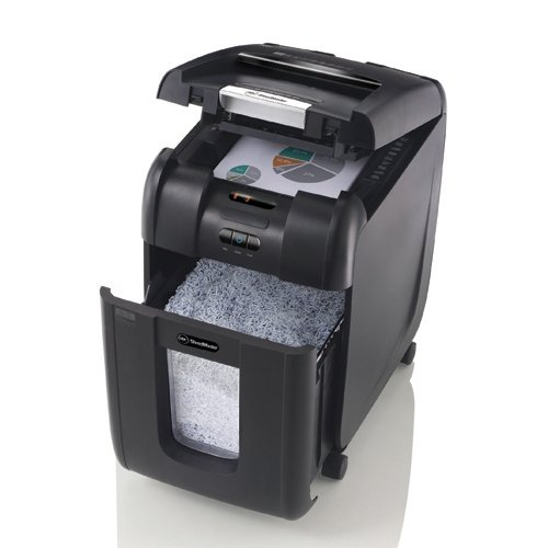 GBC Stack-and-Shred 300M Level P-5 Auto Feed Micro-Cut Shredder (GBC-1758576), Shredders Image 1