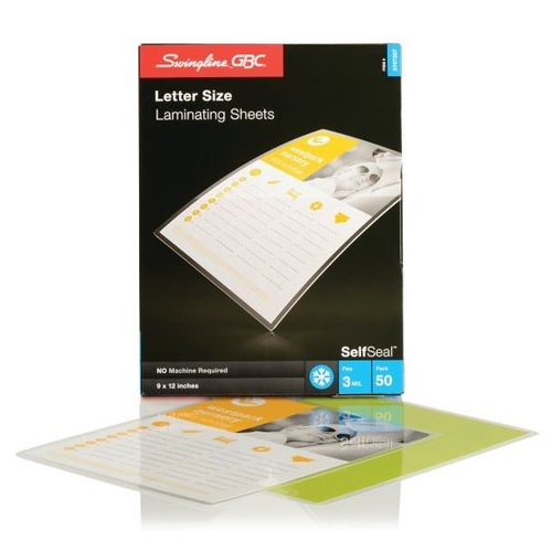 Cold Laminating Sheets for a Laminator Image 1