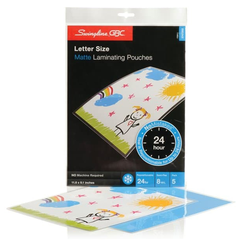 GBC Laminating Pouch with Carrier