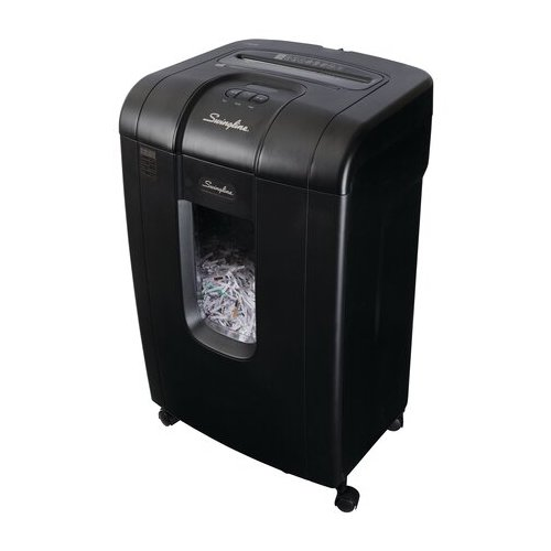 GBC Cross Cut Paper Shredder Image 1