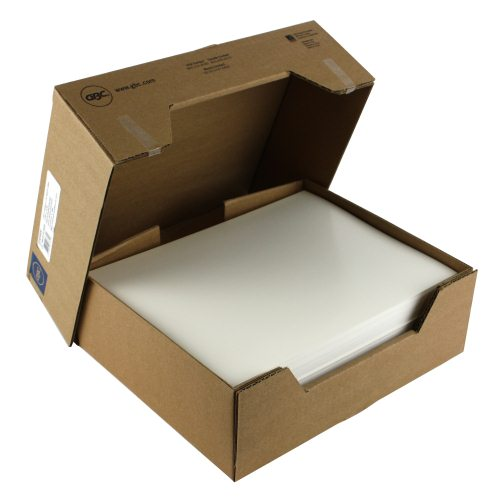 "GBC White 8.5"" x 11"" Regency Covers 200pk (9742492G) Image 1"