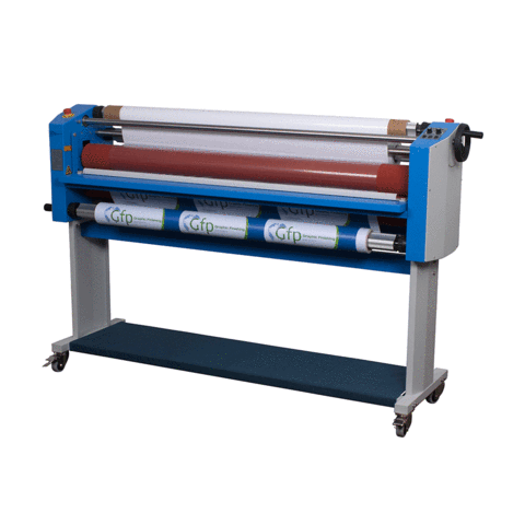 "GFP 355TH 55"" Top Heat Wide Format Roll Laminator (355-TH) - $5715.96 Image 1"