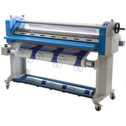 "GFP 63"" Top Heat Wide Format Roll Laminator with Slitter/Rewind Motor/Swing Out Shafts (563TH-4RS) Image 1"
