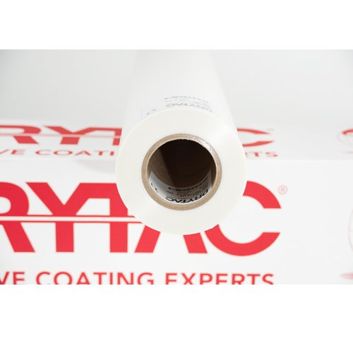 "Drytac MHL Matte UV 1.7mil 51"" x 500' Standard Temp Thermal Laminating Film (MM51501) Image 1"