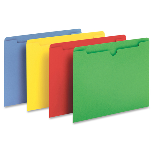 Letter Size Colored File Jackets Image 1