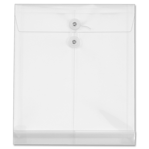 Globe-Weis Ultracolor Letter Size Top-Load Clear Poly Envelopes - 5pk (GLW89520) - $6.29 Image 1
