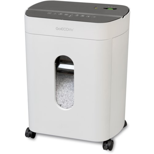 GoECOlife GMA120P Premier Edition 12-Sheet Level P-4 Micro-Cut Paper Shredder (GMA120P-WHT) Image 1