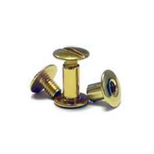 Gold Colored Aluminum Screw Posts - 100pk (MYSOGDSP) - $35.79 Image 1