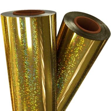 """24"""" x 500' Glitter Laminating Foil (MYGLI-24X500) Image 1"""