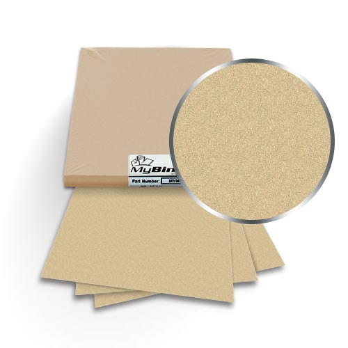 "Gold Leaf 8.5"" x 11"" Metallics Covers With Windows - 50 Sets (MYMC8.5X11GLW), MyBinding brand Image 1"