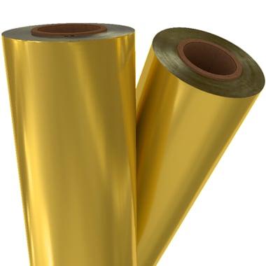 "Premium Gold Matte Metallic 12"" x 100' Laminating / Toner Fusing Foil (GLD-02-12) - $57.57 Image 1"