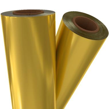 """Gold Matte Metallic 8"""" x 100' Laminating / Toner Fusing Foil (GLD-90-8) Image 1"""