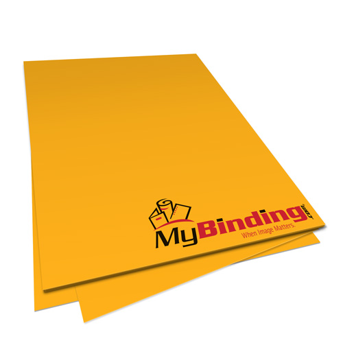 Goldenrod 20lb Unpunched Binding Paper - 500 Sheets (PPP20DMGO85X11-11), MyBinding brand Image 1