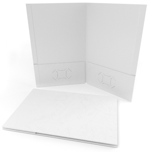 White Grain Customizable Legal Size Pocket Folders - 250pk (MYGCPFLGWH) - $352.99 Image 1