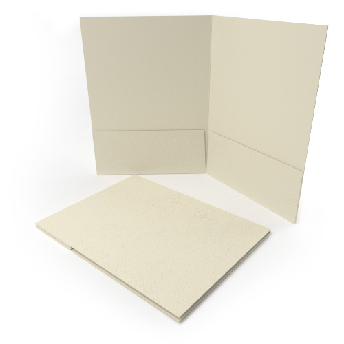 Grain Customizable Letter Size Pocket Folders Image 1