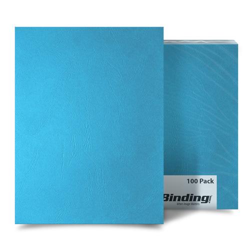 Ocean Blue Grain 8 x 8 Paper Binding Covers - 100pk (MYGR8X8OB) - $38.69 Image 1