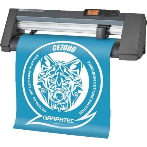 "Graphtec Plus 24"" Vinyl Cutter and Plotter with Stand (CE7000-60) Image 1"
