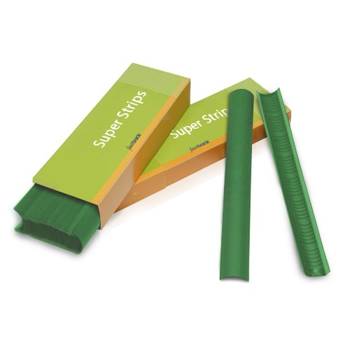 "Powis Parker Green 11"" Narrow Fastback Super Strips - 100pk (N124) Image 1"