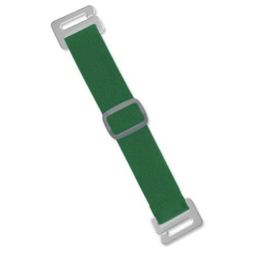 Green Adjustable Elastic Arm Band Straps - 100pk (1840-7204) Image 1