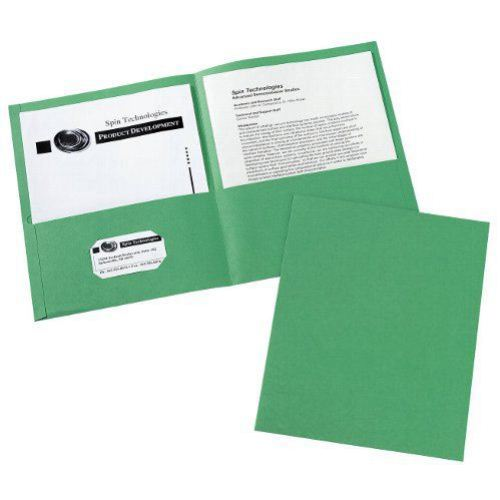 Avery Green Two-Pocket Folder 25pk (AVE-47987) Image 1