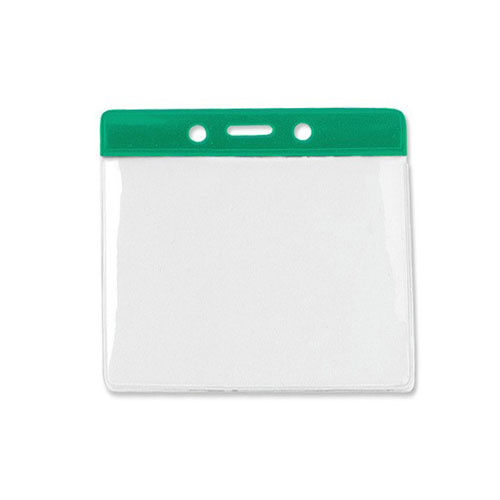 Green Id Badge Holders Image 1