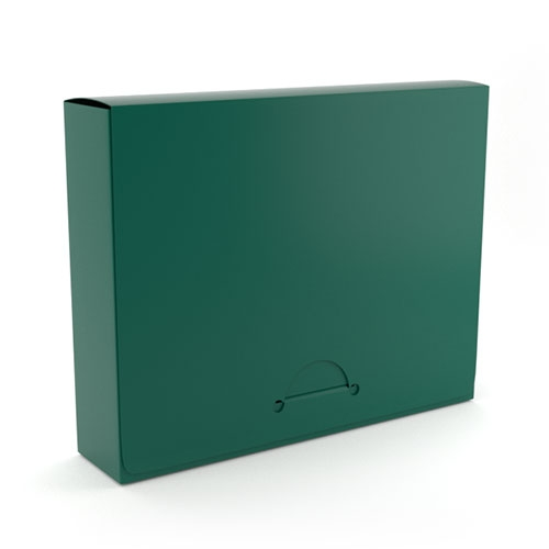 "1"" Legal Green Poly Document Boxes (MYPDBL100GN) - $386 Image 1"