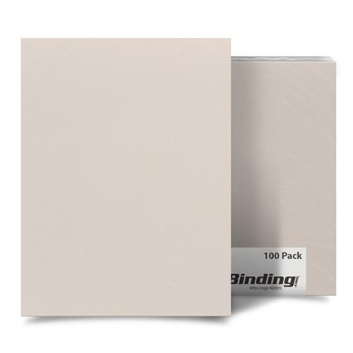 "Grumpy Gray 8.5"" x 11"" Card Stock Covers - 100pk (MYCS8.5X11GG) Image 1"