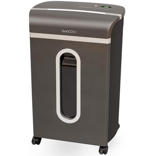 GoECOlife Platinum Series 12-Sheet Level P-4 Cross-Cut Paper Shredder (GXC120P) Image 1