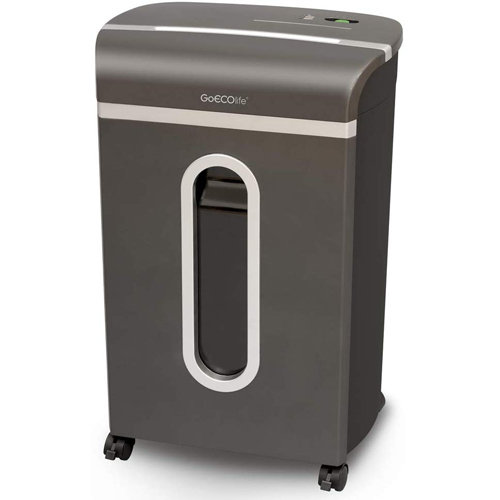 GoECOlife Platinum Series 14-Sheet Level P-4 Cross-Cut Paper Shredder (GXC140P) Image 1