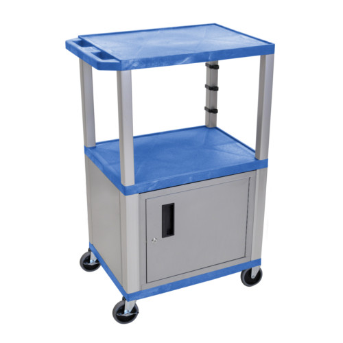 Blue High Tuffy Utility Cart Image 1