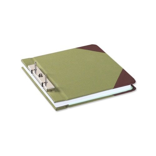 Wilson Jones Half Size Green Canvas Post Binders 4pk - A (W278-05)